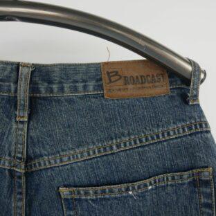 Broadcast Straight Leg Jeans W. 34 L 32